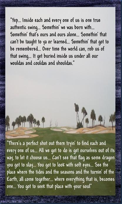 Legend of bagger vance golf course